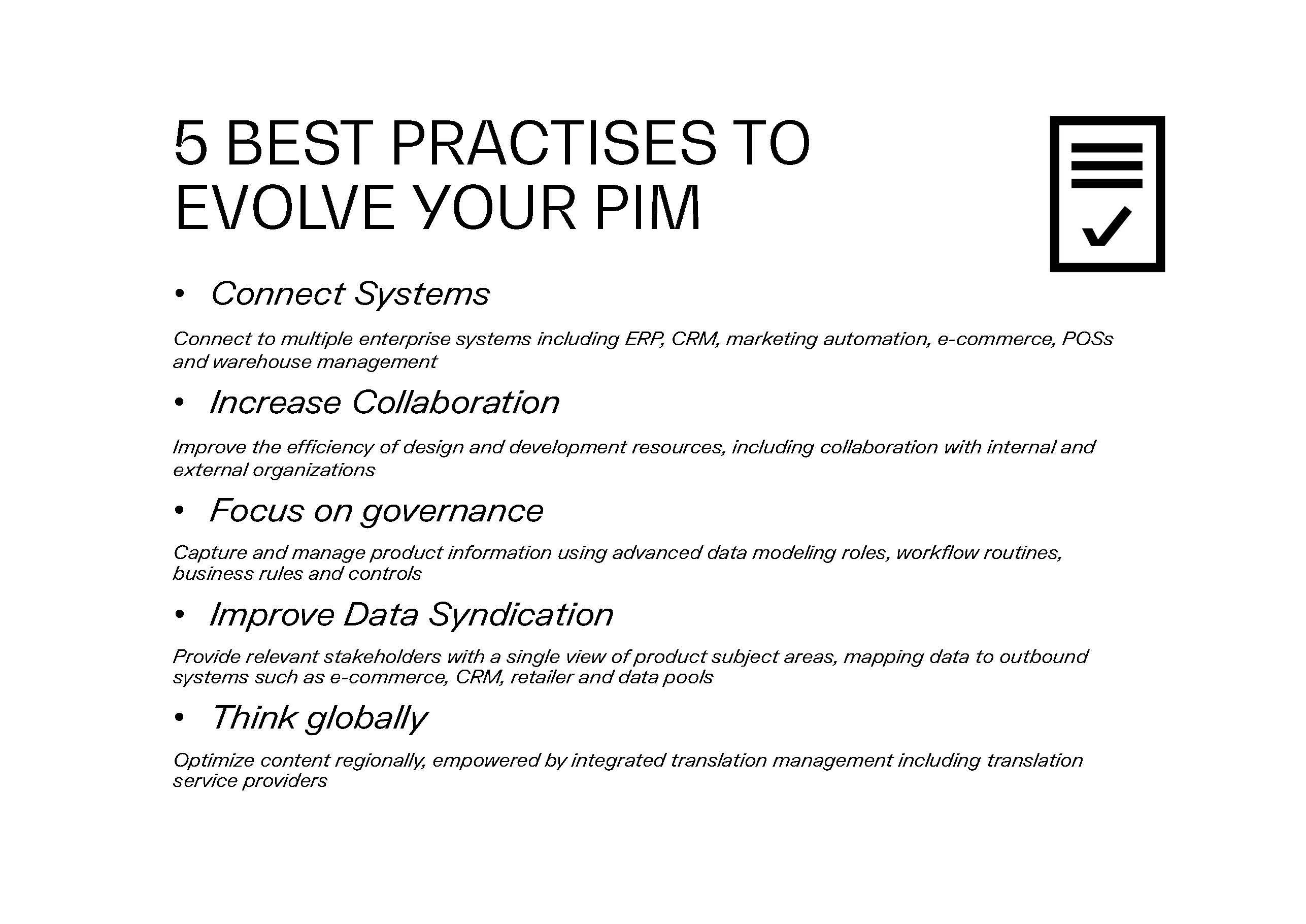 5 ways to evolve your PIM-2